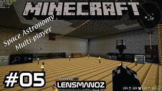 Minecraft - Space Astronomy MP - Ep 5 - Machinery & Genetics