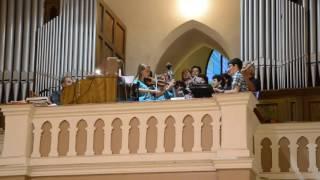 Noc kostelů Hovězí 2016 - Veni Spiritus Sancte