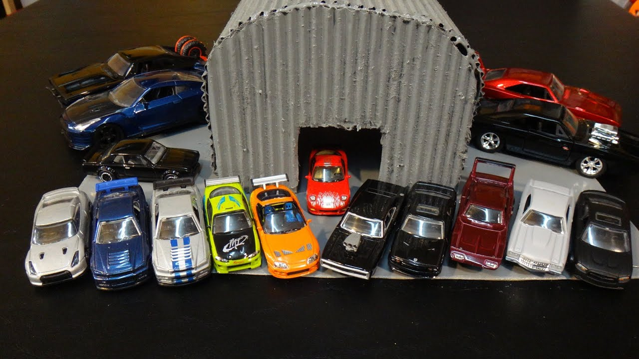 Hot Wheels The Fast And The Furious Muscle Cars Drag Races
