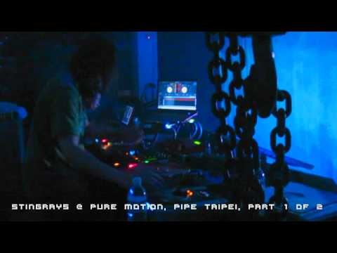 STINGRAYS @ Pure Motion, Pipe Taipei, recorded live on 111022... (Part 1 of 2)...