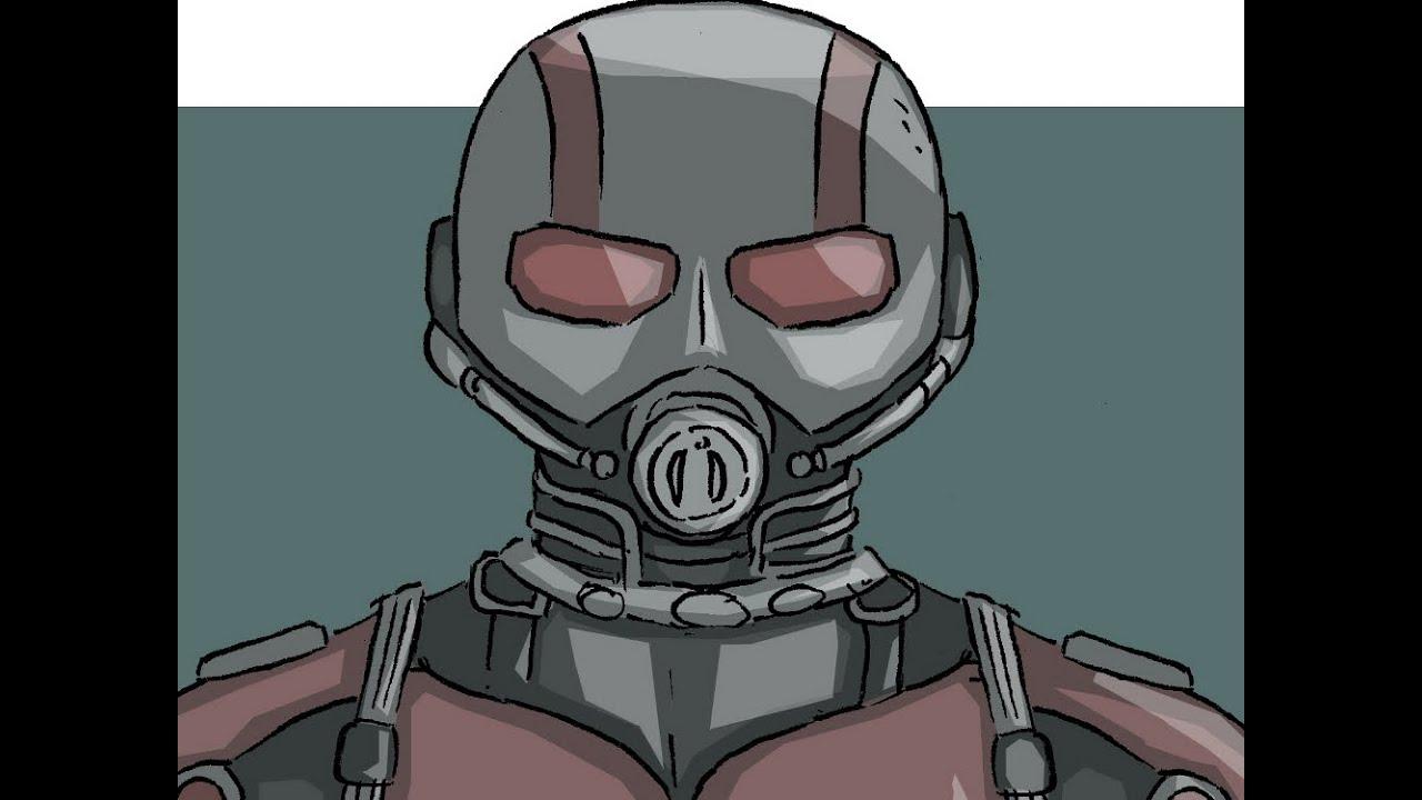 How To Draw Ant Man Cómo Dibujar A El Hombre Hormiga Movie 2015 Película
