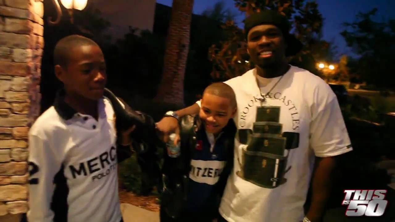 At Floyd Mayweather's Mansion with Rick Ross' son, Tia and ...