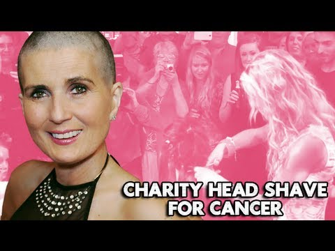 Olga Gets Her Head Shaved for Charity