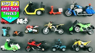 Motorcycle And Scooters For Kids Children Babies Toddlers | BIkes | Kids Learning Video For Kids