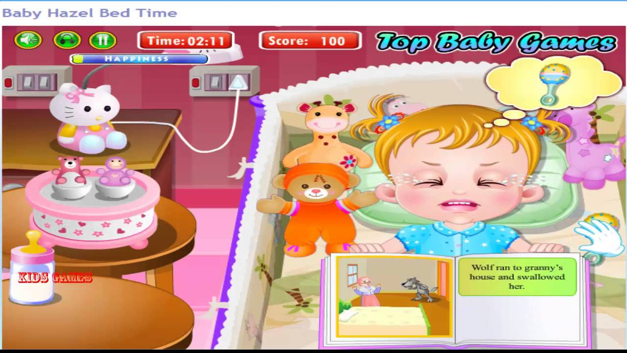 Baby hazel bed time youtube - Baby Hazel Bad Time Game Baby Video For Kids