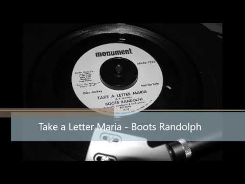Take a Letter Maria Boots Randolph Northern Soul