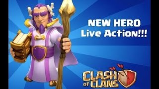 Clash of clans - New Hero Revealed || Grand Warden || TownHall 11 || Gameplay ||