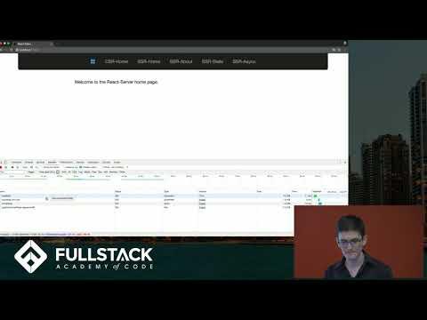 React Server-Side Rendering Tutorial - Implementing Server-Side React