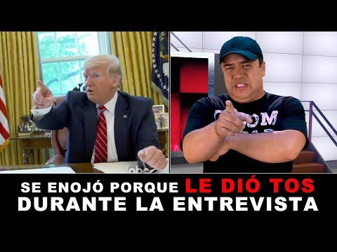 Interrumpen A Donald Trump Con Tos Y Se Enoja