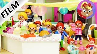 摩比游戏 Playmobil 玩偶影片 汉娜的超级派对 奶油草莓冰激凌party