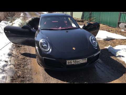 Porsche 911 на дачу, мы в шоке)))