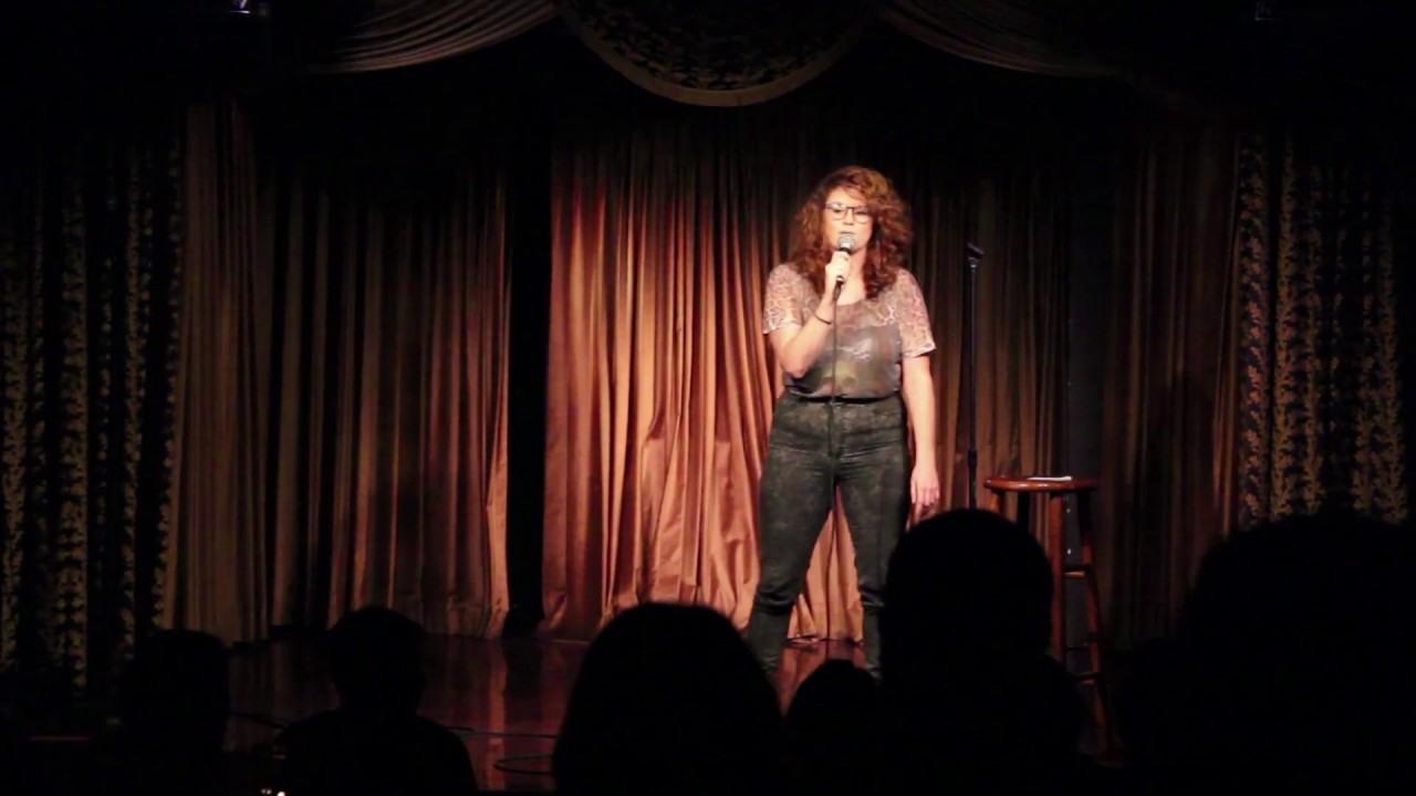 Barbara Gray performs standup at Hot Tub May 2017