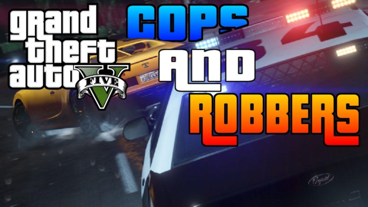 GTA V - Cops & Robbers Mini-Game! [GTA Online Fun w ... Funny Games Online Gta5