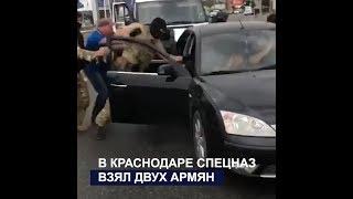 В Краснодаре спецназ взял двух армян