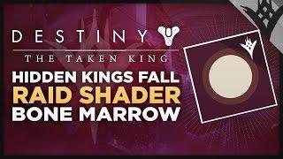 Destiny: The Taken King - The King's Fall Raid Hidden Bone Marrow Shader