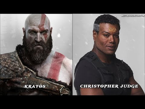 God Of War Characters Voice Actors