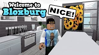 BLOXBURG! FAN HOUSE TOUR! 2 HOUSES | ROBLOX | FAMBAM GAMING
