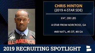 Chris Hinton: 2019 Michigan Football Recruiting Profile On The 4-Star Defensive Lineman From Atlanta