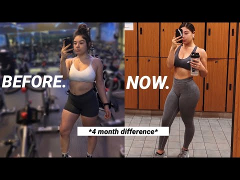 Fitness update /4 month body transformation | daisy b thumbnail