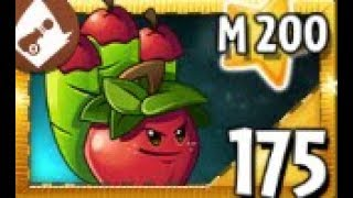 "PLANTS TEST !!! Plants vs Zombies 2 "" its about time "" Max Level & Mastery ""Apple Mortar"""
