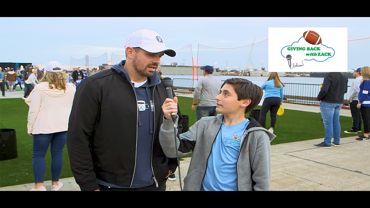 Giving Back with Zack - Alex Killorn of the Tampa Bay Lightning Interview