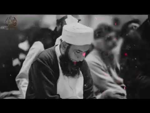 Emotional bayan by Moulana Tariq Jameel With background Nasheed #Husssain