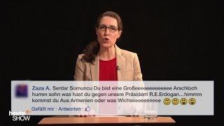 Birte Schneider liest ausgewählte Hasskommentare: Jahresrückblick 2016 (3)