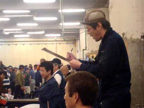 The Tsukiji Fish Market and Auctions in Tokyo Japan