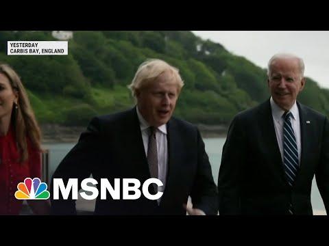 Biden Set To Attend G-7 Summit Friday In England | MSNBC