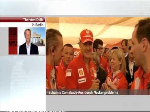 Dr. Thorsten Dolla zum Comeback-Aus von Michael Schumacher