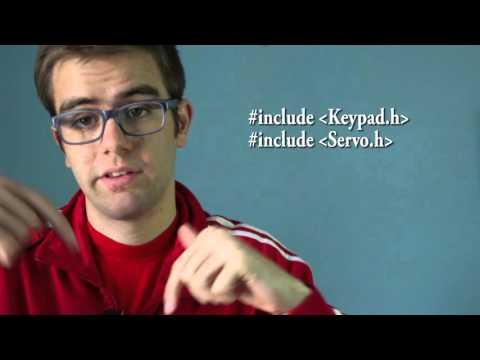 Servos y teclado matricial | RincónIngenieril