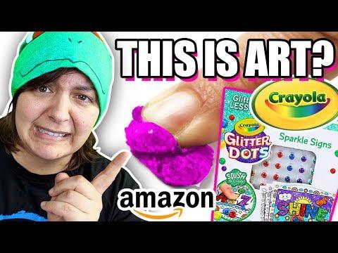 cash-or-trash?-testing-4-crayola-craft-kits-from-amazon