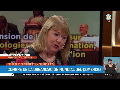 Susana Malcorra anticipa la cumbre de la OMC en Buenos Aires | #TPANoticias