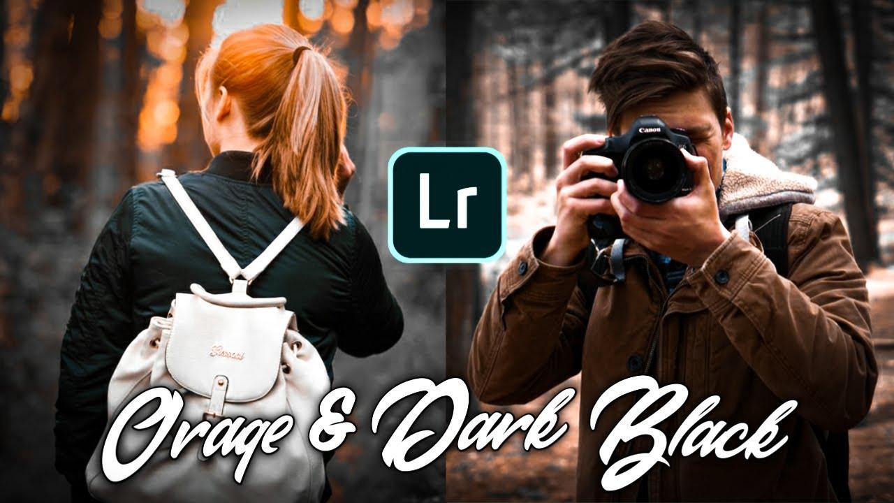 Tutorial Cara Edit Foto Efek Orange & Dark Black Di ...
