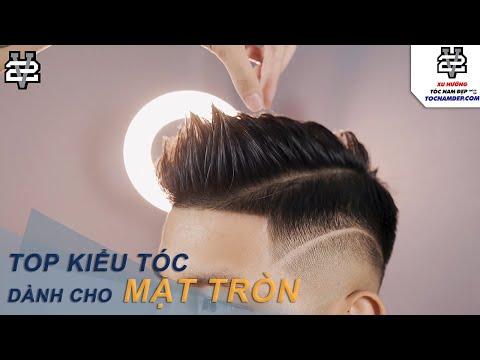 TOP Kiểu tóc nam mặt tròn đẹp năm 2021 - Thích hợp cho mọi khuôn mặt quý ông việt nam