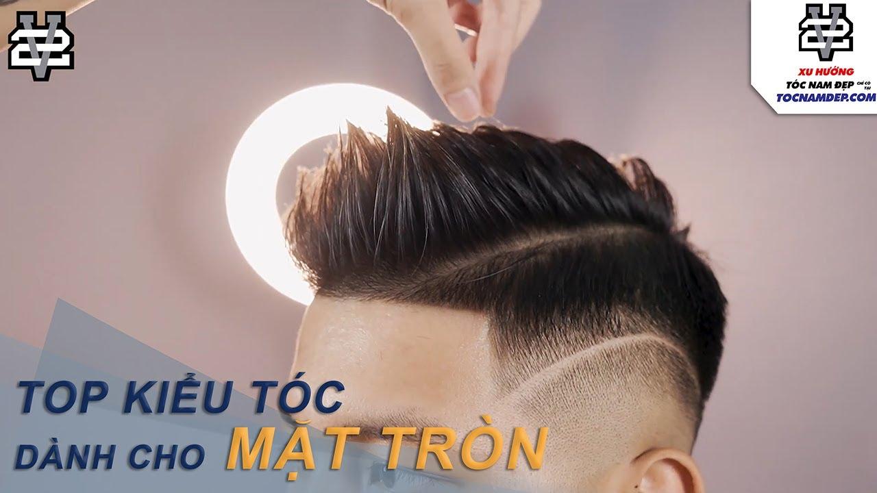 TOP Kiểu tóc nam mặt tròn đẹp năm 2021 – Thích hợp cho mọi khuôn mặt quý ông việt nam   Những kiểu tóc nam dẫn đầu xu hướng