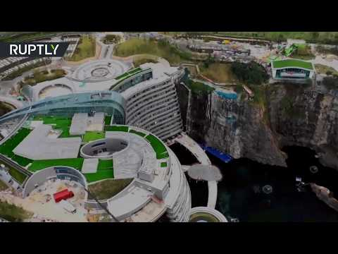 World's first underground resort opens its doors in Shanghai