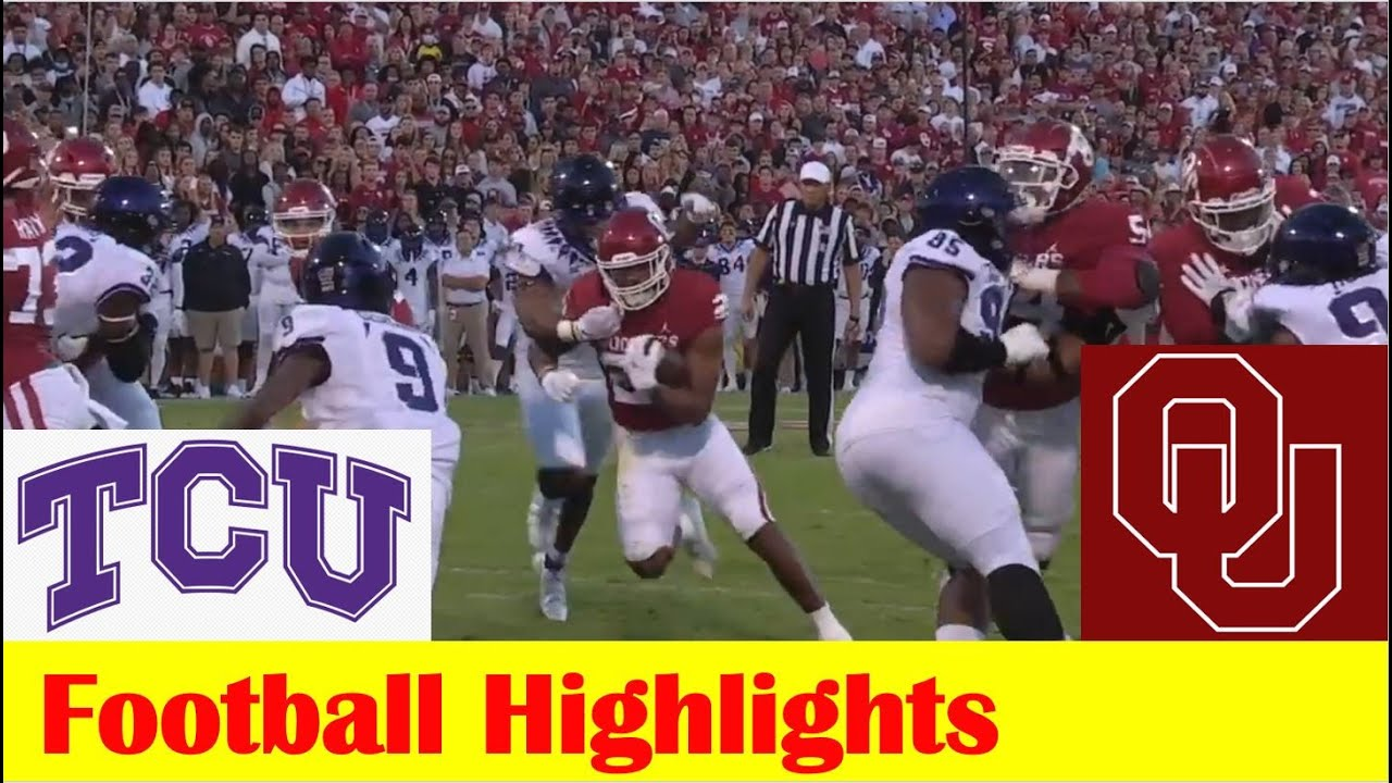 Download TCU vs #4 Oklahoma Football Game Highlights 10 16 2021