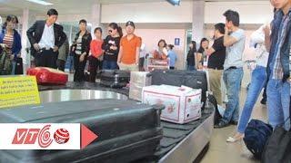 Chặn buôn lậu qua đường hàng không dịp cận Tết | VTC