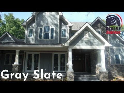 Gray Slate - James Hardie Statement Collection - YouTube