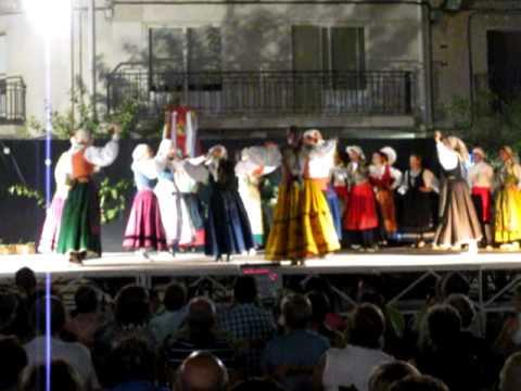 Grupo de Danzas Rauda , Agosto 2012, Las Alpargatas