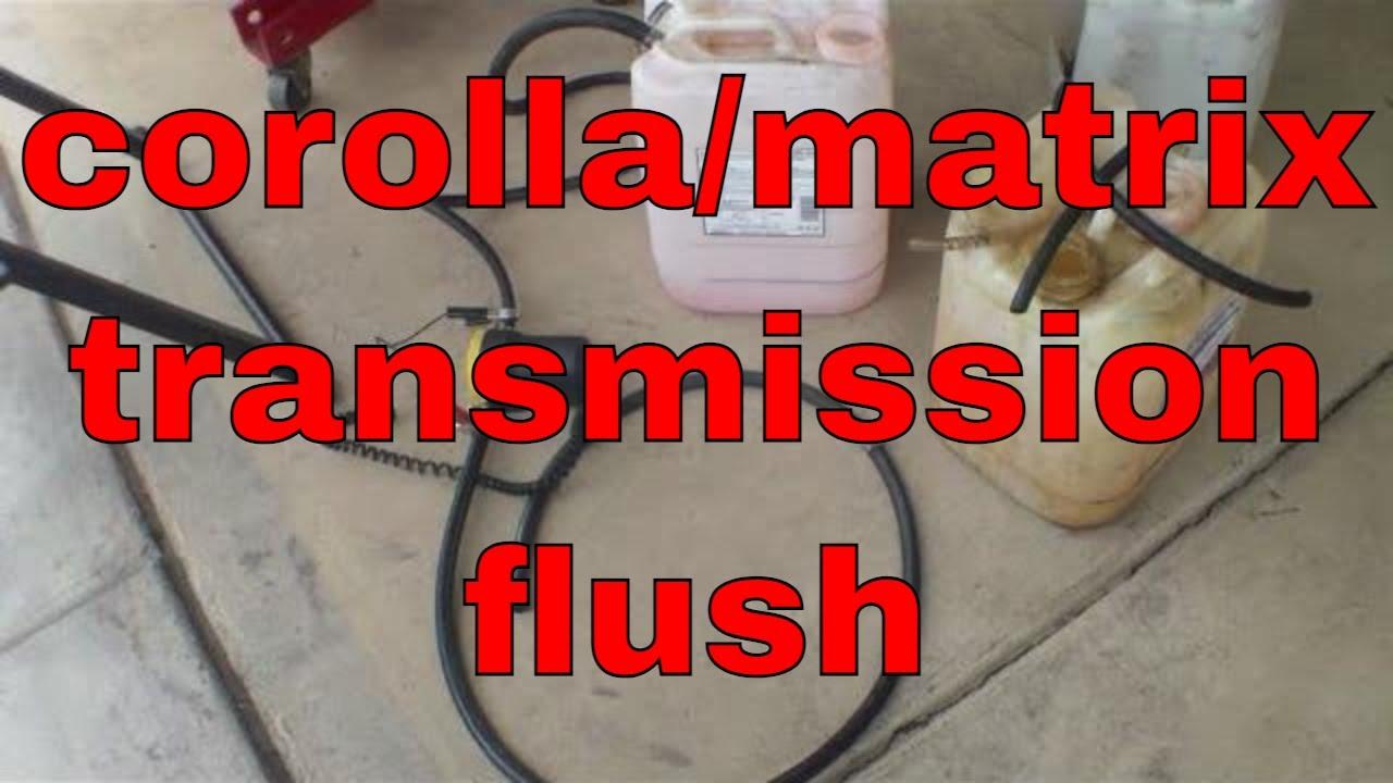 Simple Method Flush Automatic Transmission Toyota Matrix Corolla Wiring