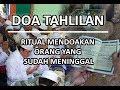 Doa Tahlil  Tahlilan