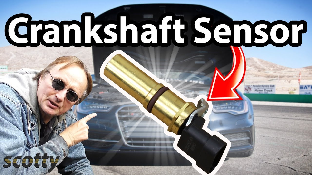 How To Replace A Crankshaft Position Sensor In Your Car Code P0335 2102 Camry Engine Diagram
