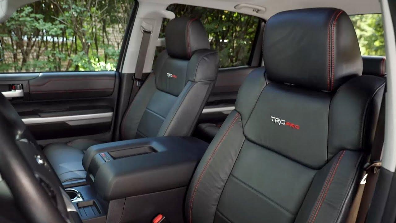 2017 Toyota Tundra TRD Pro - Interior