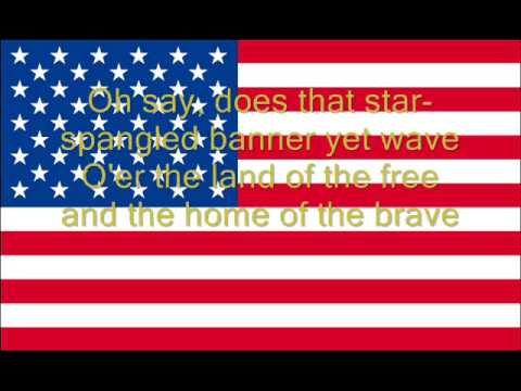 Hymne national des États Unis