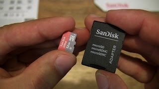 SanDisk Ultra 32GB microSDHC Class 10 Memory Card and SD Adapter