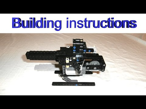 Building instructions for my small LEGO shooting mechanism