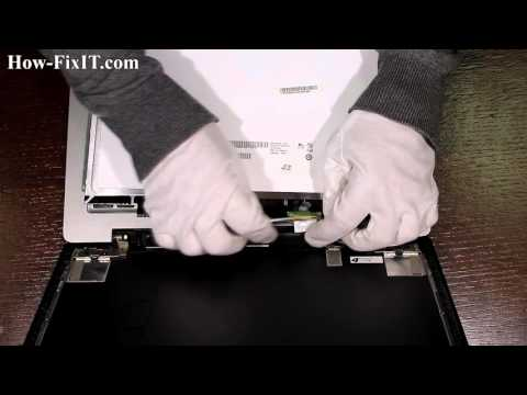 Lenovo IdeaPad U310 LCD Replacement, Reemplazo De LCD, замена матрицы ноутбука