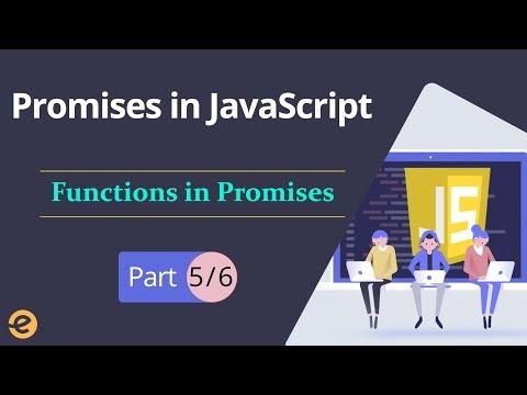 Promises in JavaScript |Functions in Promises (Part 5/6) | Eduonix thumbnail